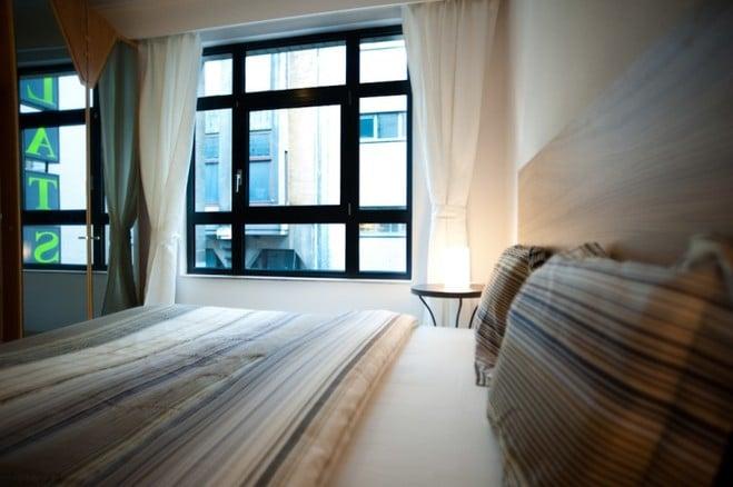 gemeubeld appartement met 1 slaapkamer tweede verdieping links